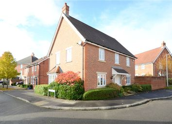 Thumbnail 4 bedroom detached house for sale in Chrysanthemum Drive, Shinfield, Reading