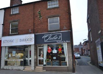 Thumbnail Restaurant/cafe for sale in Derby Street, Leek, Staffordshire