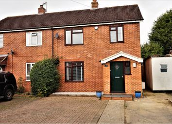 Thumbnail 3 bed semi-detached house for sale in Burnham Road, Tadley