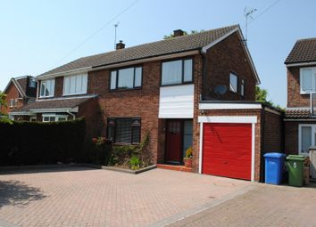 Thumbnail 3 bed semi-detached house to rent in Ullswater Avenue, Farnborough