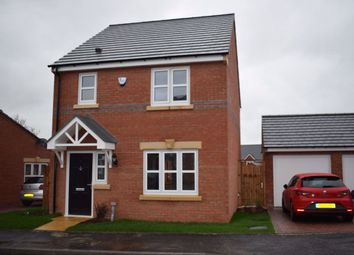 Thumbnail 3 bed detached house to rent in Clayton Ley Close, Alfreton