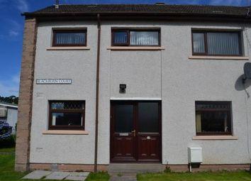Thumbnail 3 bed end terrace house for sale in 10 Blackburn Court, Elgin