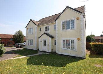 Thumbnail 2 bed flat to rent in Clover Way, Hedge End, Southampton