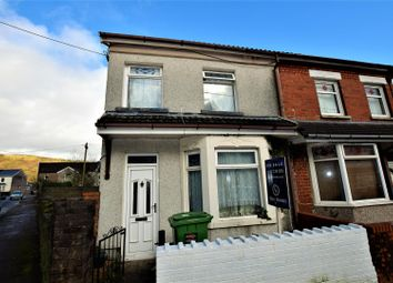 Thumbnail 4 bed end terrace house for sale in Oxford Street, Pontypridd