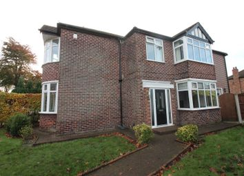 Thumbnail 4 bed detached house for sale in Cranford Road, Urmston, Manchester