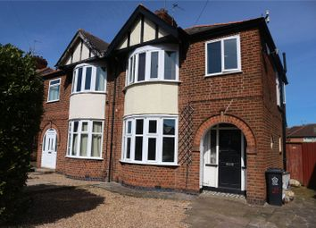 Thumbnail 3 bed semi-detached house for sale in Petworth Drive, Leicester