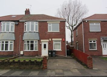 Thumbnail 2 bed flat to rent in Laing Grove, Wallsend