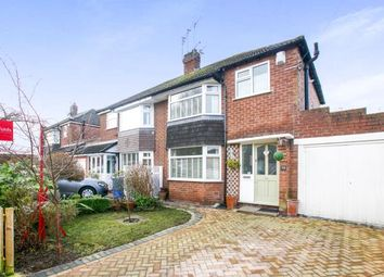 Thumbnail 3 bed semi-detached house for sale in Nursery Road, Cheadle Hulme, Cheadle, Greater Manchester