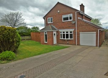 Thumbnail 4 bed detached house for sale in Hallfield Drive, Easington, Peterlee