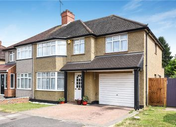 Thumbnail 5 bed semi-detached house for sale in Woodlands Avenue, Ruislip, Middlesex
