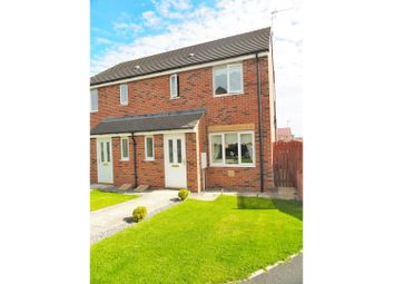 Thumbnail 3 bedroom semi-detached house for sale in Evergreen Close, Bishop Cuthbert