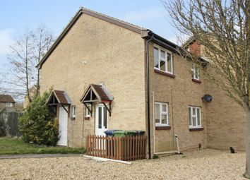 Thumbnail 1 bedroom terraced house for sale in Little Meadow, Bar Hill, Cambridge