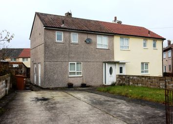 Thumbnail 2 bed semi-detached house for sale in 3 Croasdale Avenue, Mirehouse, Whitehaven, Cumbria