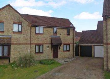Thumbnail 3 bed semi-detached house to rent in Elm Close, Brandon