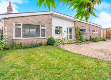 Thumbnail 4 bed detached bungalow for sale in Lopham Road, East Harling, Norwich