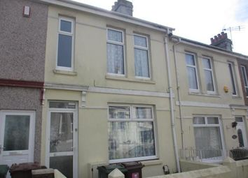 Thumbnail 3 bed terraced house to rent in Lynher Street, St Budeaux, Plymouth, Devon