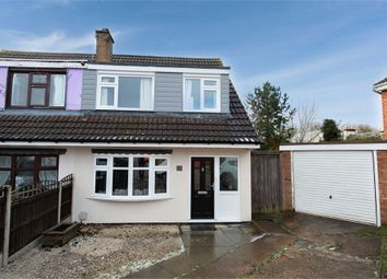 Thumbnail 3 bed semi-detached house for sale in Pope Crescent, Enderby, Leicester