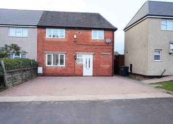 Thumbnail 2 bed semi-detached house for sale in St. Christophers Road, Coalville