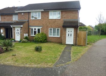 Thumbnail 2 bed end terrace house for sale in Friary Gardens, Newport Pagnell