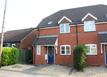 Thumbnail 3 bedroom semi-detached house for sale in Halstead Close, Woodley, Reading, Berkshire