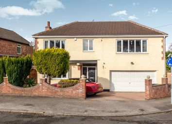 Thumbnail 4 bed detached house for sale in Roland Avenue, Nuthall, Nottingham