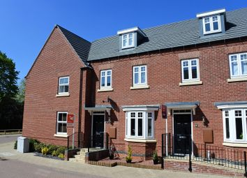 Thumbnail 3 bed town house for sale in Tamworth Close, Grantham