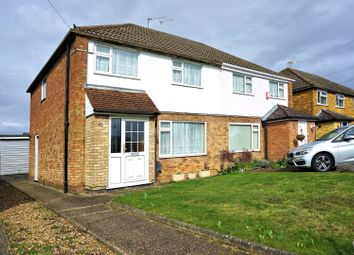 Thumbnail 3 bed semi-detached house for sale in Ashleigh Avenue, Egham