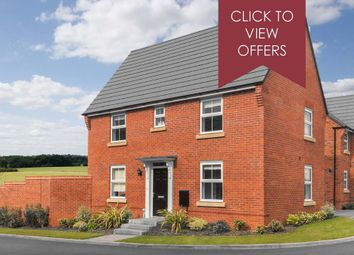"""Thumbnail 3 bedroom detached house for sale in """"Hadley"""" at Shrewsbury Court, Upwoods Road, Doveridge, Ashbourne"""