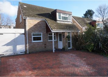 Thumbnail 4 bedroom link-detached house for sale in Turnstone Gardens, Lordswood, Southampton