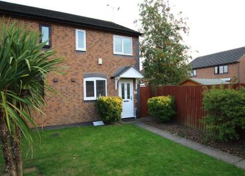 Thumbnail 2 bed semi-detached house for sale in Birkdale Avenue, Branston, Burton-On-Trent