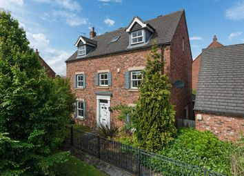 Thumbnail 5 bed detached house for sale in Warkworth Woods, Newcastle Upon Tyne