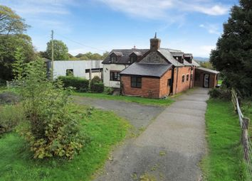 Thumbnail 4 bed detached house for sale in Adfa, Newtown, Powys