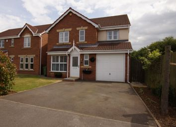 Thumbnail 4 bedroom detached house for sale in Swift Drive, Scawby Brook, Brigg