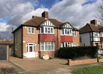 Thumbnail 3 bed semi-detached house to rent in Lawrence Avenue, Old Malden, Worcester Park