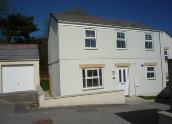 Thumbnail 3 bed semi-detached house to rent in Newbridge View, Truro, Cornwall