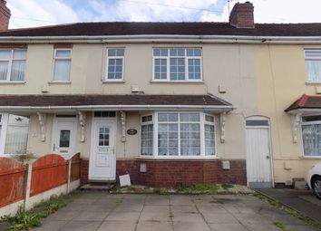 Thumbnail 3 bed terraced house for sale in Pedmore Road, Dudley