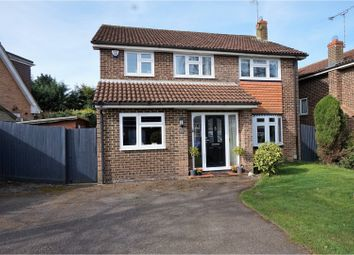 Thumbnail 4 bedroom detached house for sale in Wordsworth Avenue, Yateley