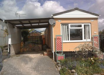 Thumbnail 2 bed mobile/park home for sale in Luxulyan, Bodmin