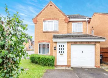 Thumbnail 3 bed detached house for sale in Fox Hollow, Oadby, Leicester