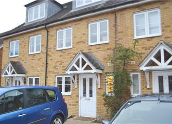Thumbnail 4 bed terraced house to rent in Bushy Close, Romford