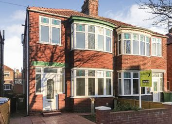 Thumbnail 3 bed semi-detached house for sale in Ripon Road, Redcar