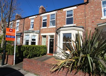Thumbnail 3 bed terraced house to rent in Wolsingham Road, Gosforth, Newcastle Upon Tyne