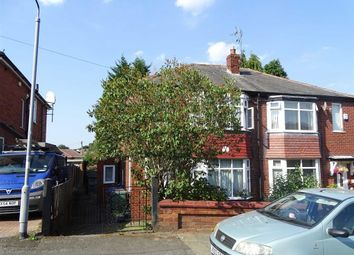 Thumbnail 3 bed semi-detached house for sale in Venwood Road, Prestwich, Prestwich Manchester