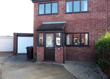 Thumbnail 3 bed semi-detached house to rent in Maple Close, Wymondham