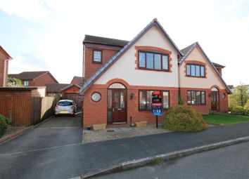 Thumbnail 3 bed detached house for sale in Berrybrook Meadow, Exminster, Exeter