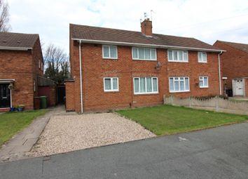 Thumbnail 1 bedroom flat to rent in Castlebridge Road, Wednesfield, Wolverhampton