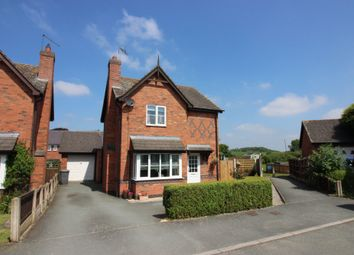 Thumbnail 3 bed detached house for sale in Striga Bank, Hanmer, Whitchurch