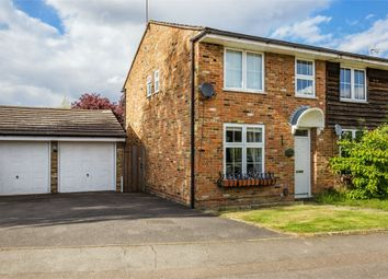 Thumbnail 3 bed end terrace house for sale in Pennyfield, Cobham, Surrey