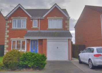 Thumbnail 4 bed detached house for sale in Featherstone Grove, Bedlington