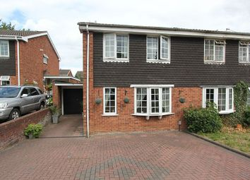 Thumbnail 3 bed link-detached house for sale in Francis Road, Lichfield, Staffordshire